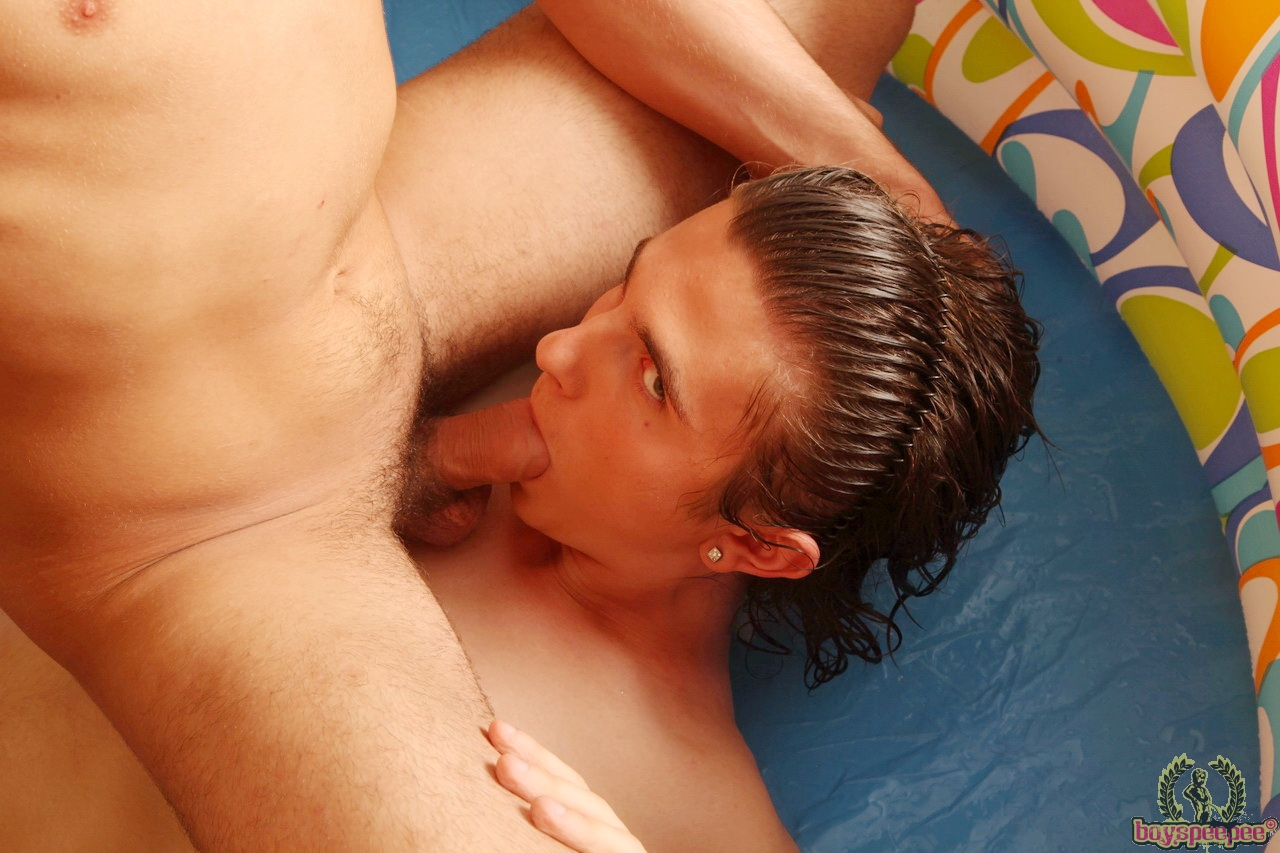 Straight on his face gay first cock at Boys Pee Pee