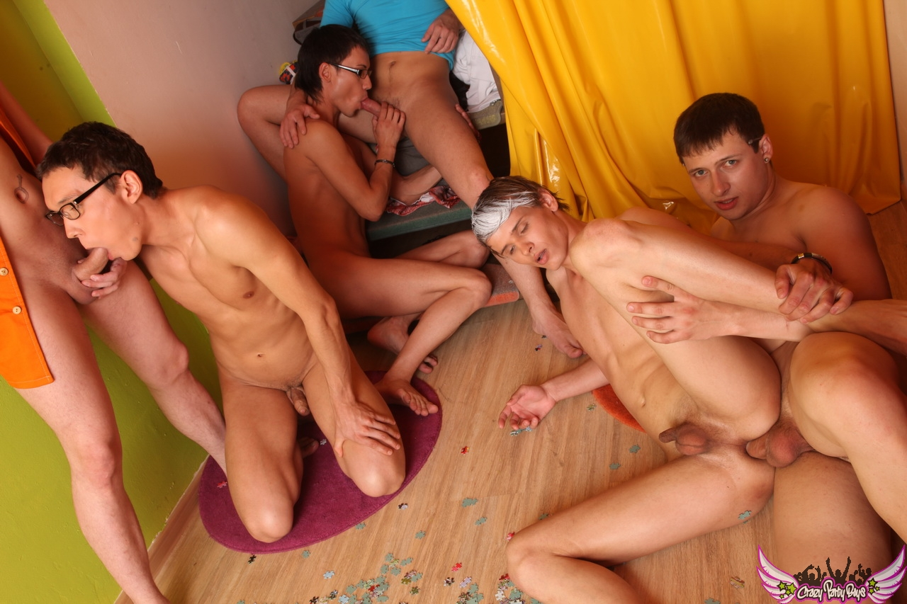 Gay porn group sex