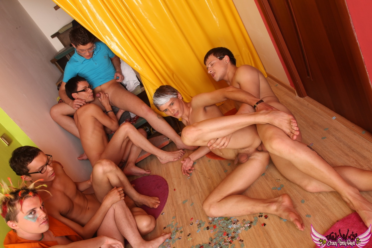 Free group sex of fat man gay and boy