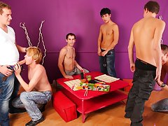 hairy group sex gay