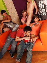 young gay group sex