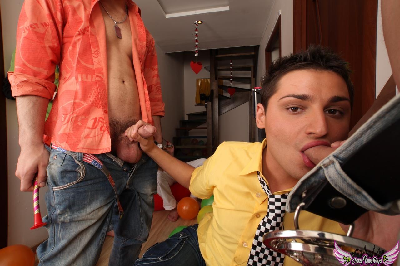 Gay twink male masturbate on camera 8