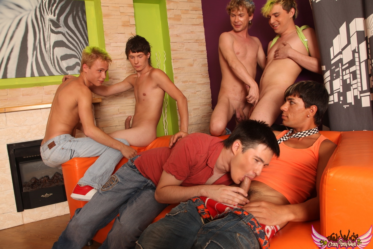 Gay guys group sex exclusive allboys club