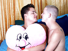 sex penis young gay with old